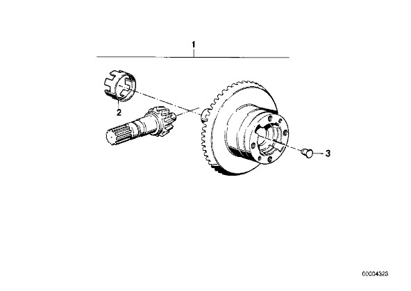 inductive speed sensor on rear drive problem