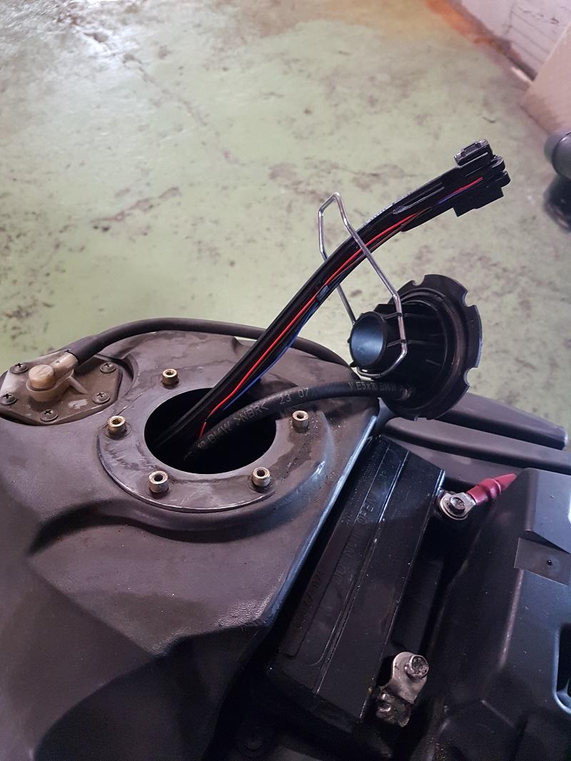 How To Calibrate Fuel Level Sensor K1200gt 2008 Bmw
