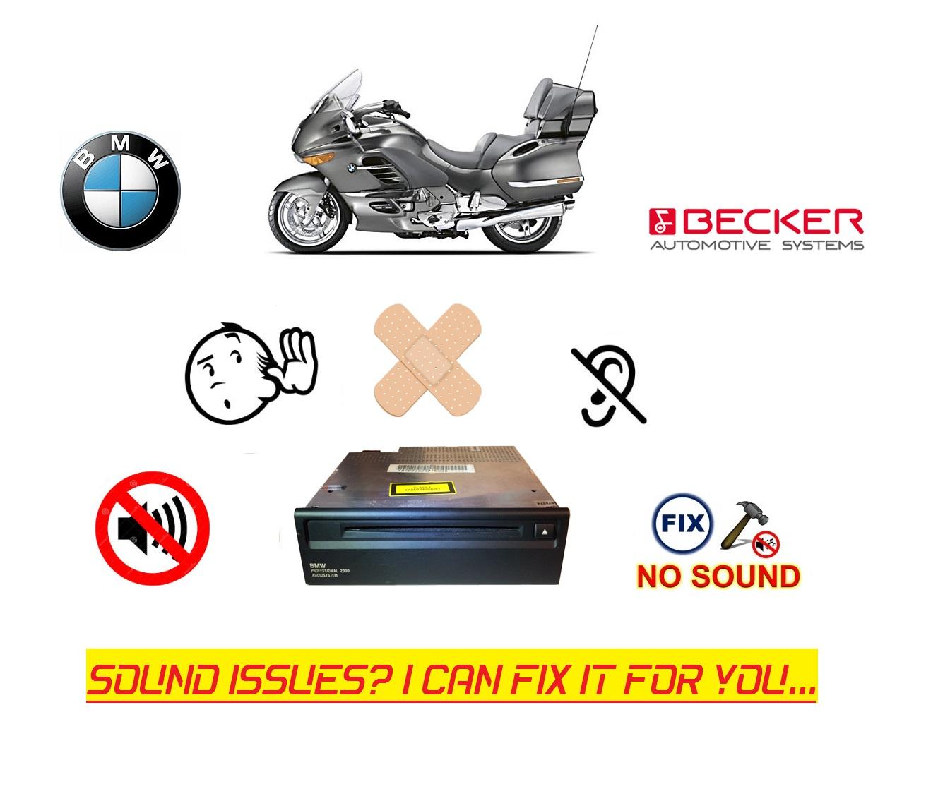 Radio Sound Problem ( Becker ) - BMW Luxury Touring Community