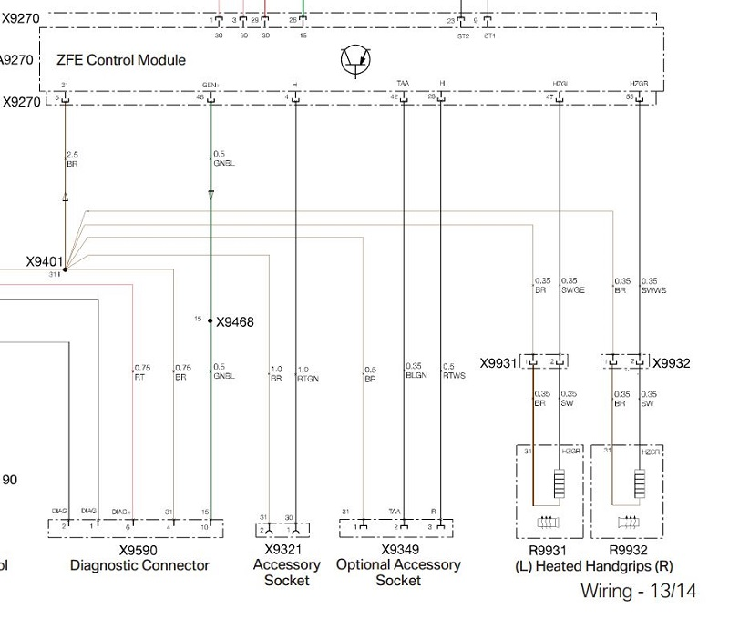 Click Image For Larger Version Name Capture Views 296 Size 1061: BMW Navigator V Wiring Diagram At Anocheocurrio.co