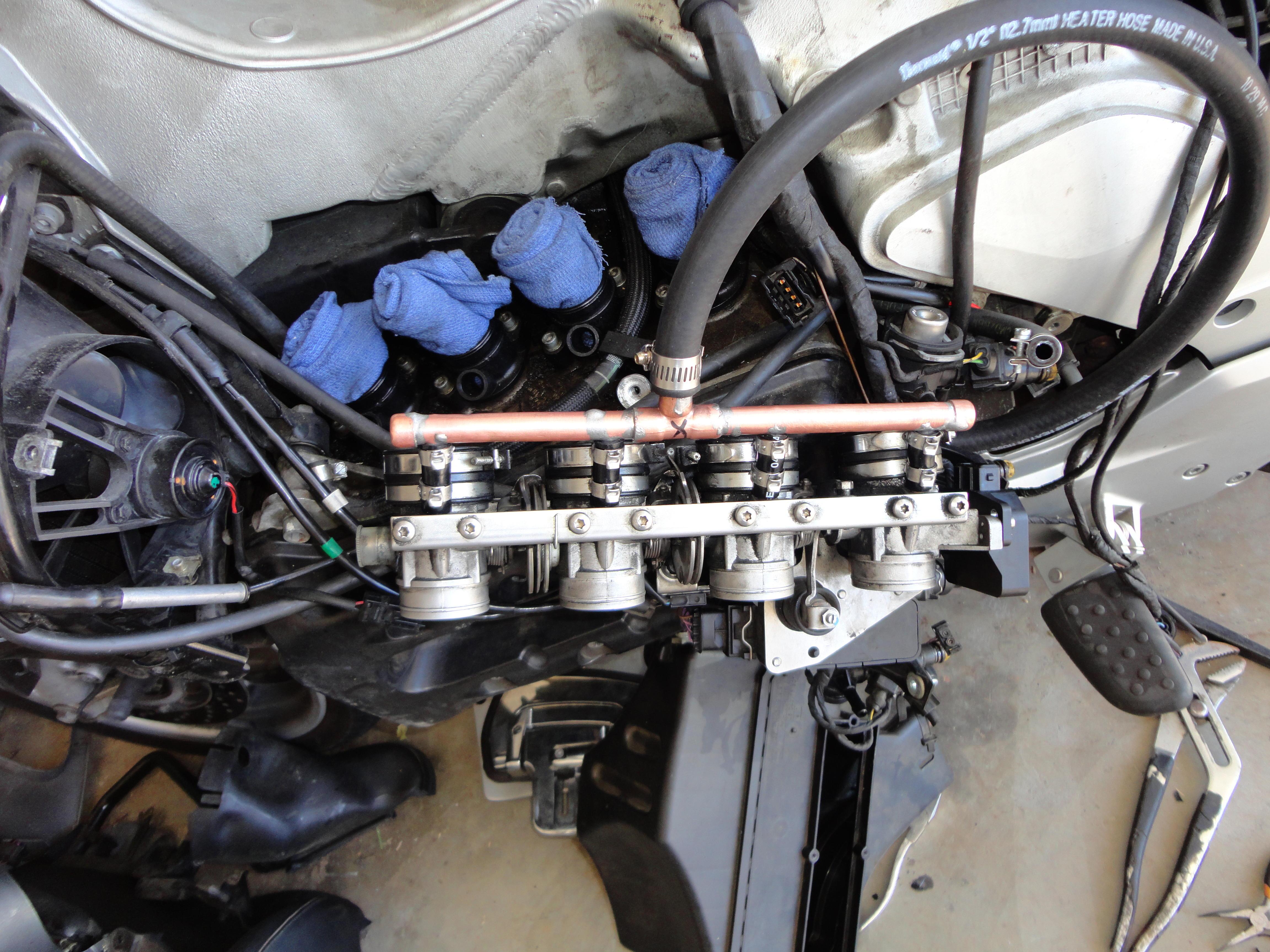 Attaching Crankcase Breather Hose - BMW Luxury Touring Community