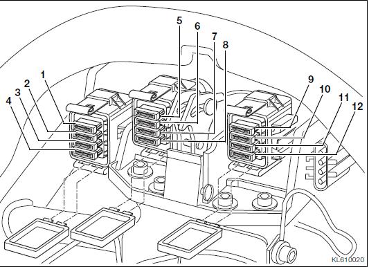 cooling fan fuses