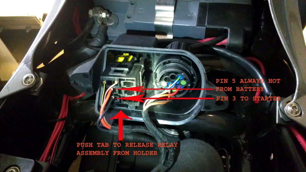 plug wiring diagram bypass bad or defective start switch bmw luxury touring  bypass bad or defective start switch bmw luxury touring
