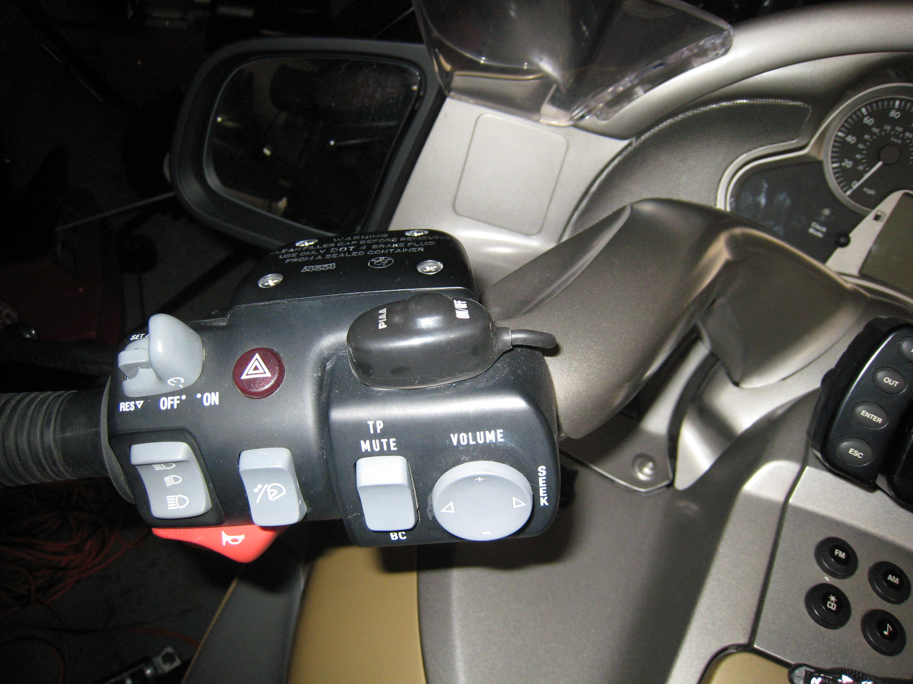 piaa 1100x mounting on off switch bmw luxury touring community click image for larger version 0013 jpg views 1009 size 680 4