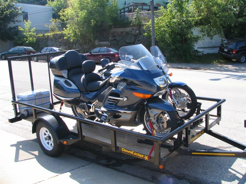 What Trailer Else To Transport Multiple Big Bikes Bmw