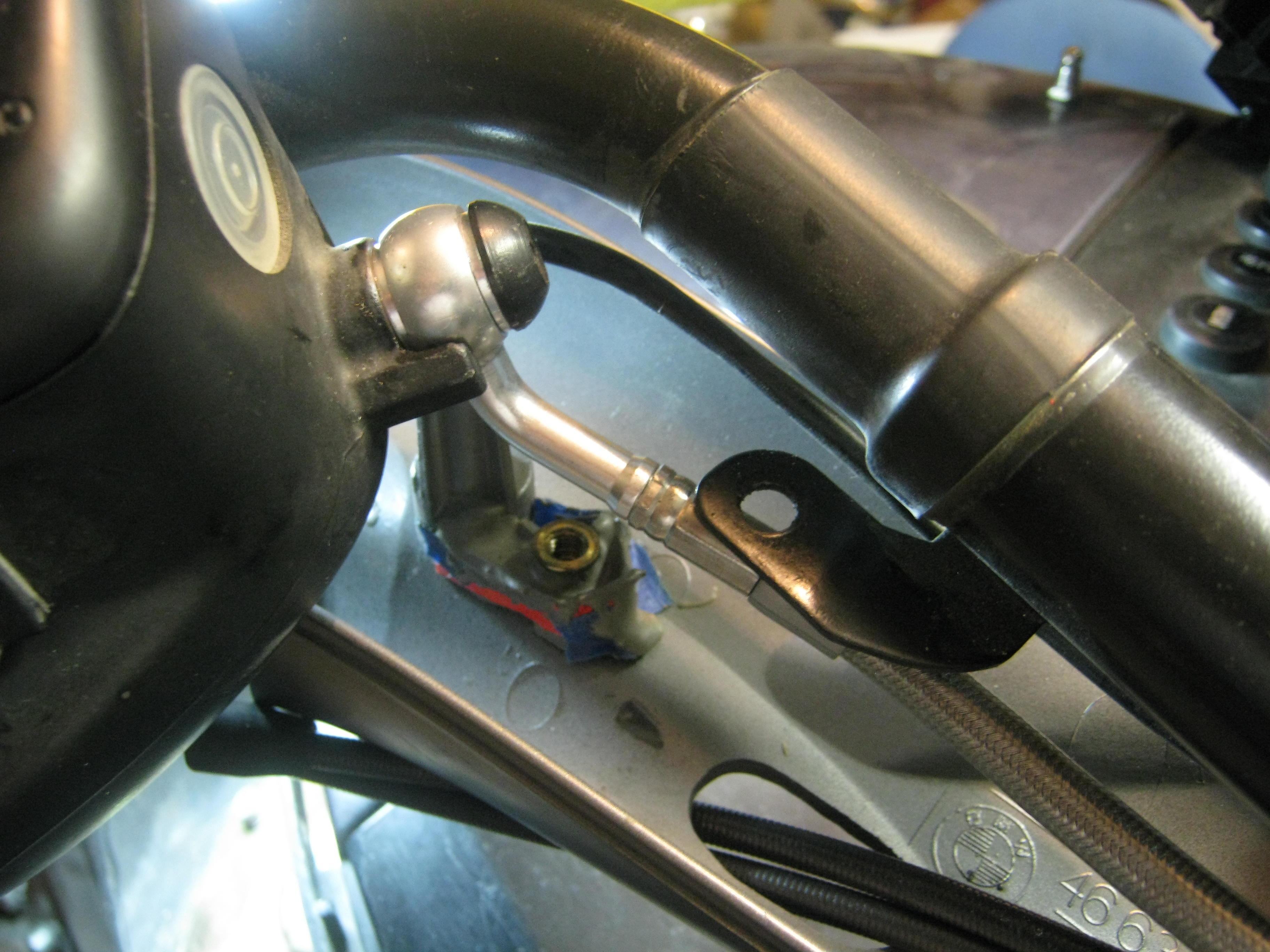 Spiegler brake line installation - BMW Luxury Touring Community