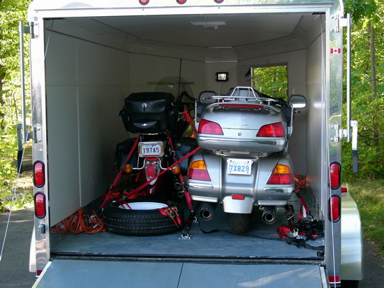 Enclosed Trailer Options Bmw Luxury Touring Community