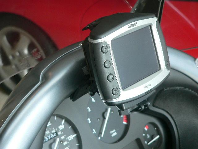 Zumo mount on BMW k1200 lt - BMW Luxury Touring Community