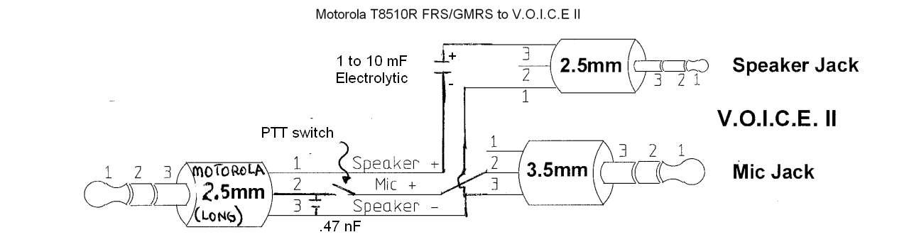 any one able to connect latest mororla frs to voice 2 bmw luxury rh bmwlt com 3.5Mm Jack Wiring Diagram motorola headset wiring schematic