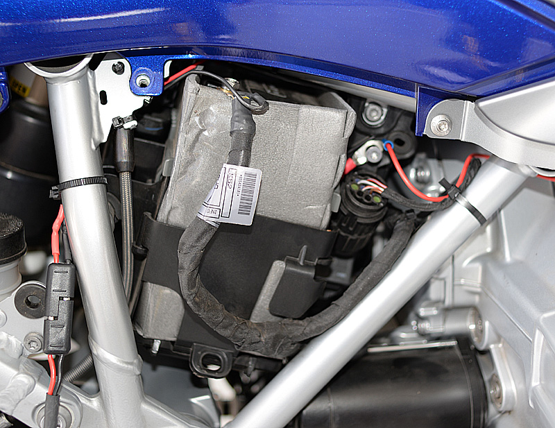 Battery Location on 2014 RT | BMW Luxury Touring Community | 2014 R1200rt Wiring Diagram |  | BMW Luxury Touring Community
