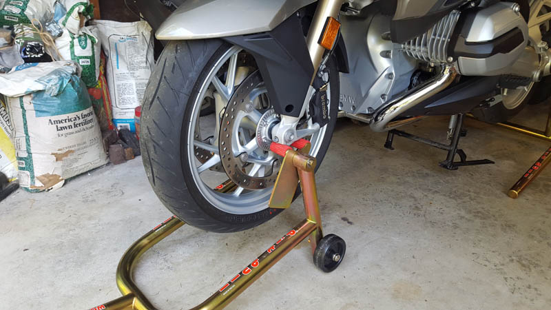 Paddock Stands For Rtw Front Amp Rear Bmw Luxury Touring