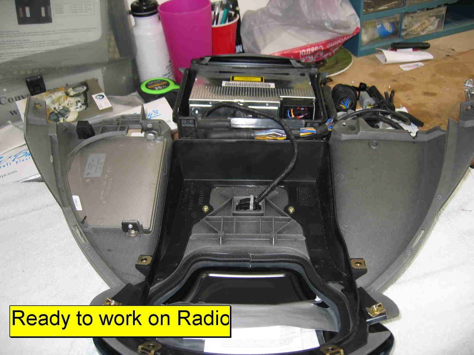 Installing Aux Cable In Stingray