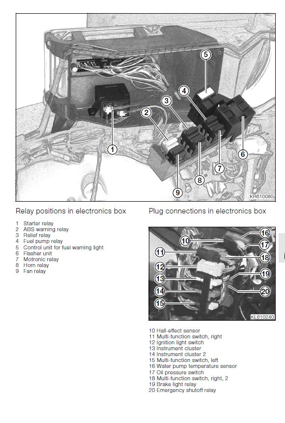 Bmw K1300gt Wiring Diagram : Diagnosis please flickering lights over rpm s