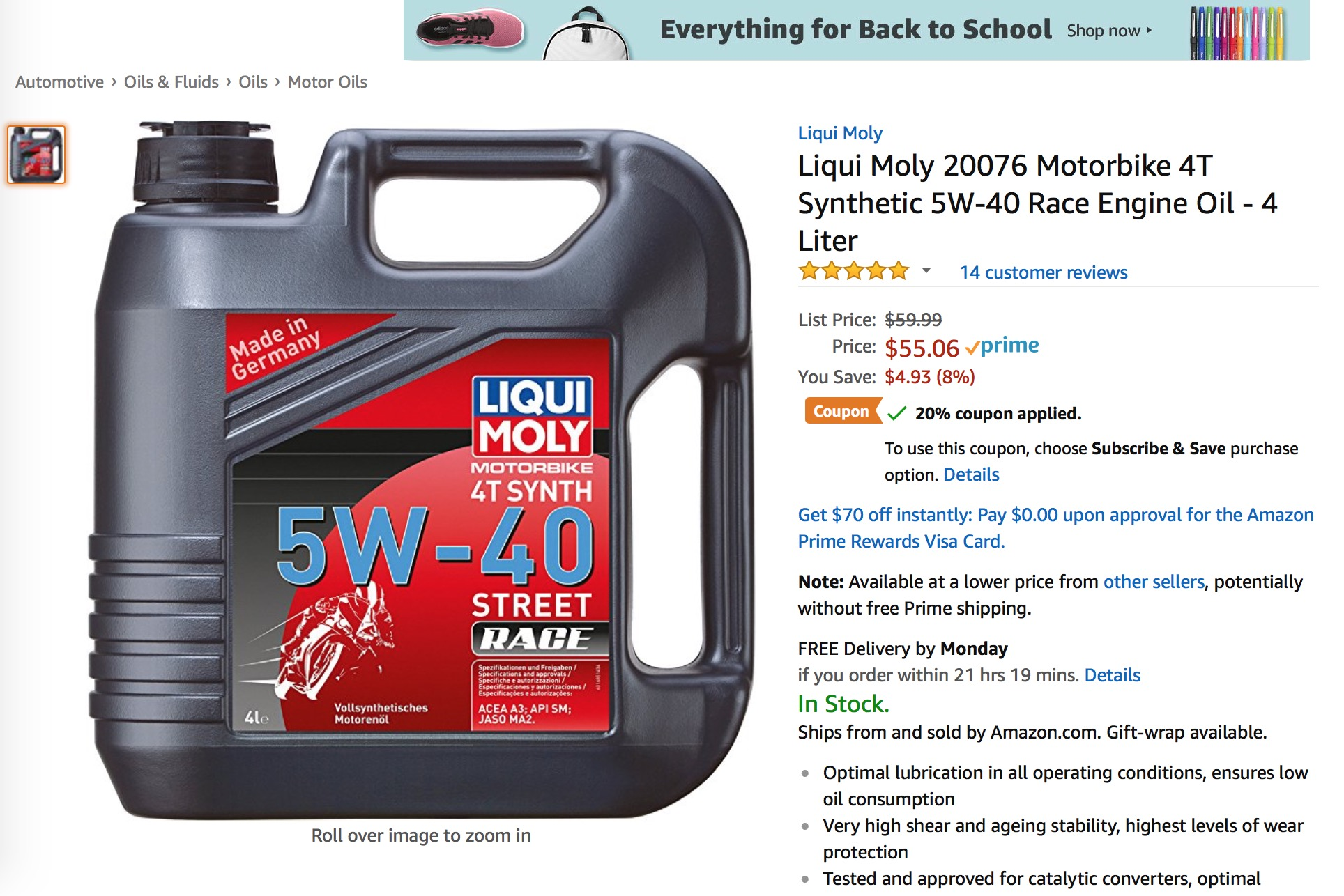 Is Api Sm Ok For Wet Heads Bmw Luxury Touring Community Castrol Motorbike Engine Oil Power1 Scooter 4t 10w 40 08 Liter Click Image Larger Version Name Screen Shot 2018 03 At 740