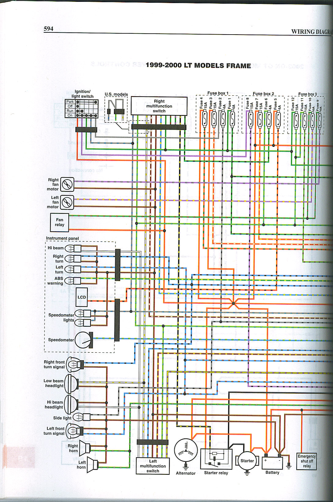 Anybody got a wiring diagram? | BMW Luxury Touring Community BMW Luxury Touring Community