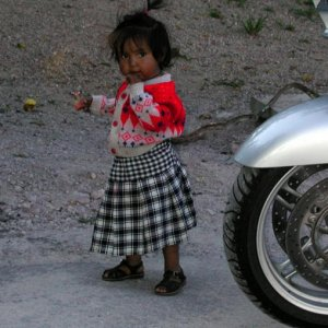 Curious cutie during our Copper Canyon stop in 2003