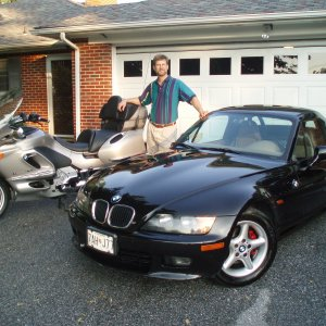 Me my bike and the other toy a Z3