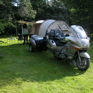 BMW K1200LT + ZZ Trailer