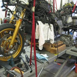 Randi's Trike Engine Rebuild Project
